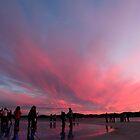 sunset in zadar by milena boeva
