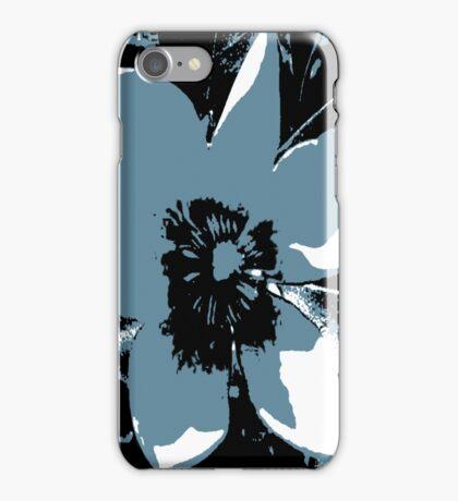 Blooming Slate Blue iPhone Case/Skin