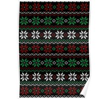 Ugly Flower Sweater Poster