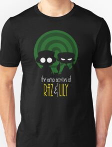 THE CAMP ACTIVITIES OF RAZ & LILI (BATMAN THE ANIMATED SERIES PARODY) Unisex T-Shirt