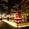 Red Ornament Holiday Decorations - New York City by Vivienne Gucwa