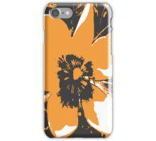 Blooming Orange iPhone Case/Skin