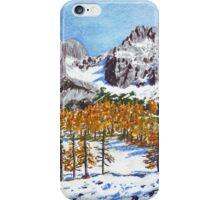 Golden Larches of Dachstein iPhone Case/Skin