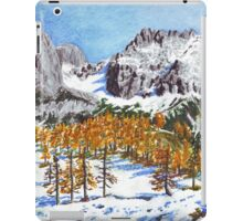 Golden Larches of Dachstein iPad Case/Skin