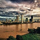 Chao Phraya River by Asif Patel