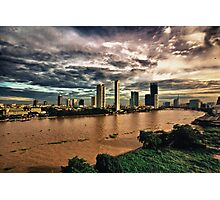 Chao Phraya River Photographic Print
