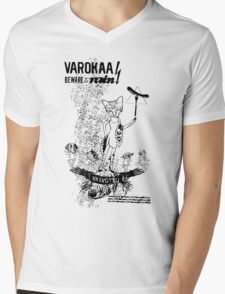 Domestic USA Mens V-Neck T-Shirt