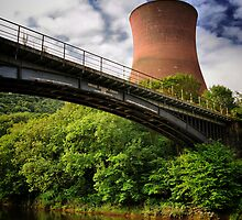 Ironbridge Power Station, Shropshire, England by Giles Clare