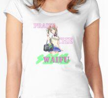 Kotori - Praise the waifu Women's Fitted Scoop T-Shirt