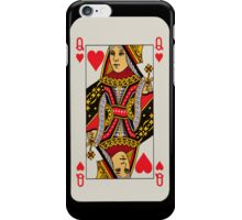 Iphone case 'Queen of hearts' iPhone Case/Skin