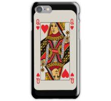 Iphone case 'Queen of hearts' iPhone Case/Skin