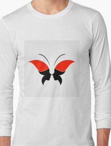 Face forming a butterfly T-Shirt