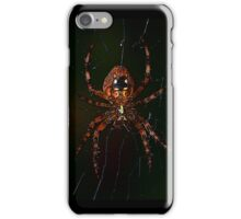 Red Orb Weaver (iPhone Case) iPhone Case/Skin