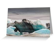 Icebergs at Jokulsarlon, Iceland Greeting Card