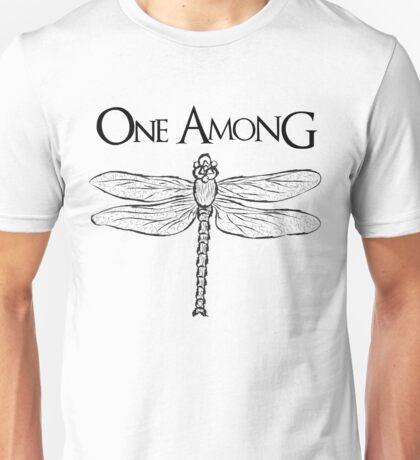 Dragonfly Among the Fence (Black) Unisex T-Shirt