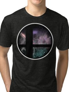 Smash Bros final destination 2 Tri-blend T-Shirt