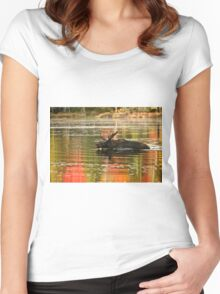 Bull Moose Crossing Creek Women's Fitted Scoop T-Shirt
