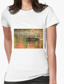 Bull Moose Crossing Creek Womens Fitted T-Shirt
