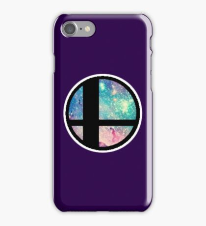 Galactic Smash Bros. Final destination iPhone Case/Skin