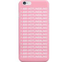 1-800-HOTLINEBLING lol #drake iPhone Case/Skin