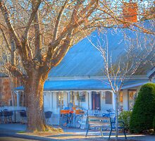 Bicycle Cafe, Hahndorf, Adelaide Hills by Mark Richards