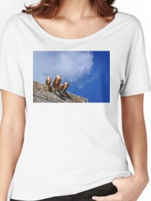 The dragon of Mont Saint Michel Women's Relaxed Fit T-Shirt