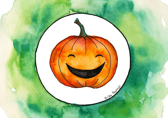 Halloween Jack-o'-lantern by Erika  Hastings