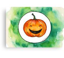 Halloween Jack-o'-lantern Canvas Print