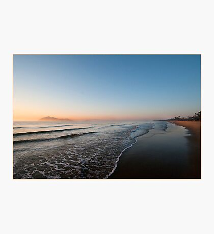 Sunrise over Dunk Island Photographic Print