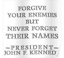 Forgive Your Enemies (Alt) Poster