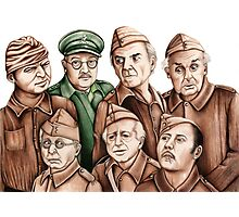 Dad's Army Photographic Print