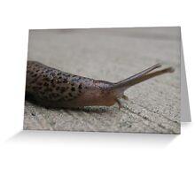 Fastest Slug On Slime Greeting Card