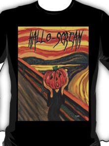 """Hallo-Scream"" T-Shirt"