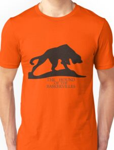 Hound of the Baskervilles Typography Unisex T-Shirt