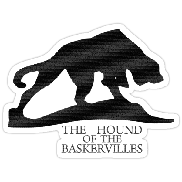 Hound of the Baskervilles Typography by curiousfashion
