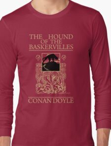 Hound of the Baskervilles Book Cover Long Sleeve T-Shirt