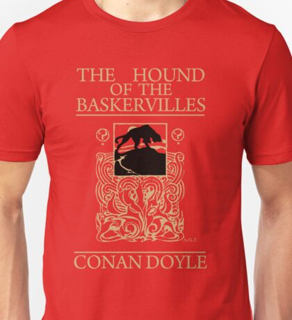 Hound of the Baskervilles Book Cover Unisex T-Shirt