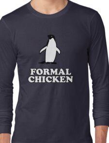Penguin (Formal Chicken) Long Sleeve T-Shirt