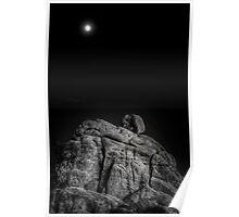 Moon Rock Poster