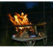 A classic South African braai!! Photographic Print