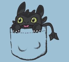 Pocket Toothless Kids Tee