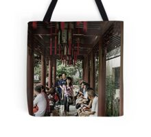 a narrow walk Tote Bag