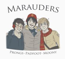 Marauders: Winter Tales by Kirsten  Stackhouse