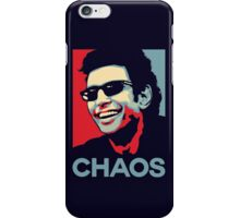 Ian Malcolm 'Chaos' T-Shirt iPhone Case/Skin