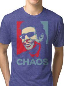 Ian Malcolm 'Chaos' T-Shirt Tri-blend T-Shirt