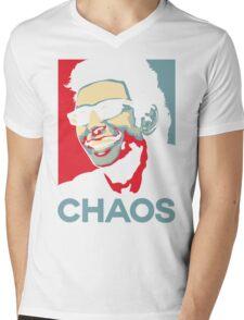 Ian Malcolm 'Chaos' T-Shirt Mens V-Neck T-Shirt