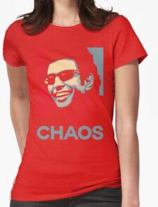Ian Malcolm 'Chaos' T-Shirt Womens Fitted T-Shirt