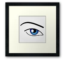 The Human Eye  Framed Print