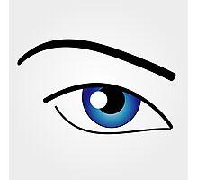 The Human Eye  Photographic Print