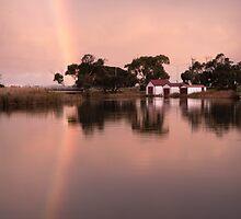 Anglesea River Rainbow by Darryl Fowler